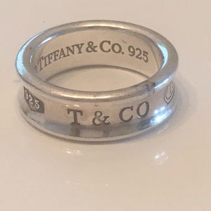 Tiffany's sterling silver ring